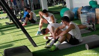 Las nuevas instalaciones prefabricadas en el Club Deportivo Leganés