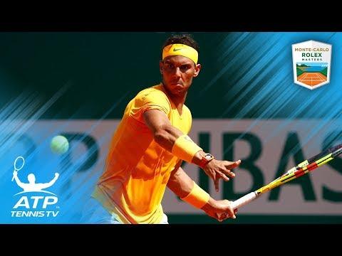 Nadal, Nishikori advance to final! | Monte-Carlo 2018 Semi-Final Highlights