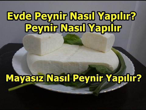 Yoğurtla Peynir yapımı | Yoğurtla Peynir nasıl yapılır ? Mayasız peynir yapımı
