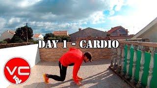 DAY 1 - 25 MIN FAT BURNER WORKOUT - CARDIO by Vitor Caldeira