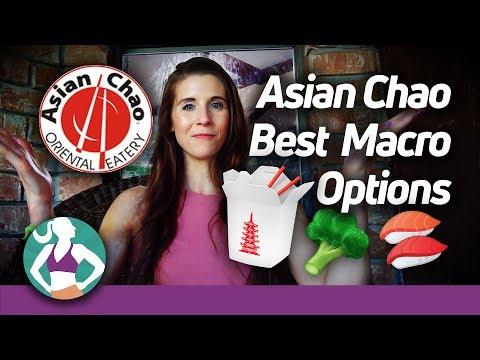 Asian Airport Restaurants | High Protein, High Fiber, High Fat Foods