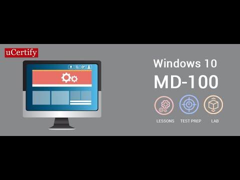 Microsoft MCSA Windows 10 certification training -uCertify - YouTube