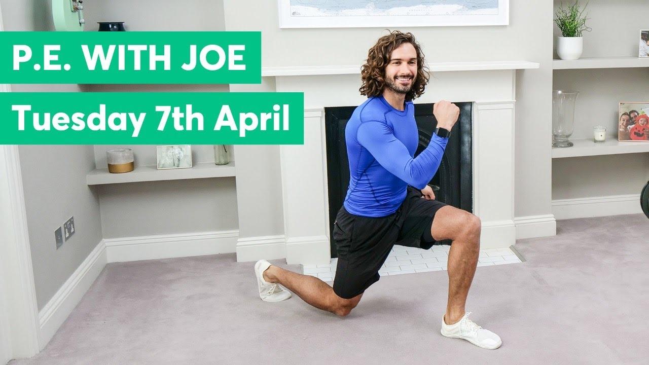 P.E With Joe | Tuesday 7th April 2020
