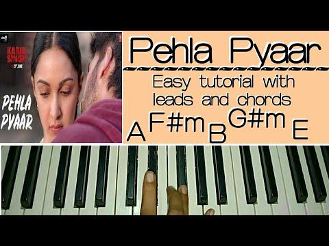 Pehla Pyaar - Easy Piano Tutorial -  Kabir Singh | Shahid Kapoor, Kiara Advani | Armaan Malik