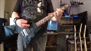 Arch Enemy - Behind The Smile - Guitar Cover