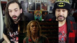 A QUIET PLACE   Official TEASER TRAILER REACTION & REVIEW!!! - Video Youtube