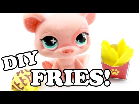 DIY - miniature French Fries!