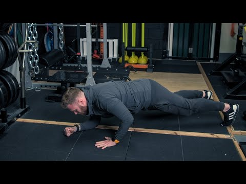 Plank Press Up - Home Workout Series