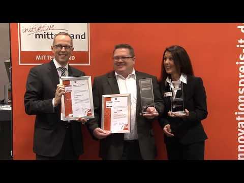 Preisübergabe Internetagentur Schott GmbH auf der CeBIT 2013