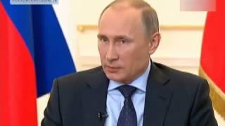 Пресс-конференция Путина по ситуации на Украине и в Крыму 4.03.2014