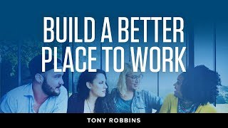 Transforming Your Company's Culture | Tony Robbins Podcast