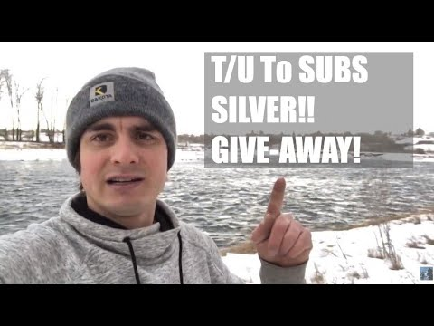 T/U To Subs Silver GIVEAWAY Draw - And Live Stream Tonight Update