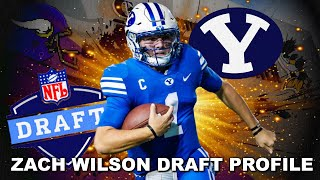 Vikings Draft Profile: BYU QB Zach Wilson