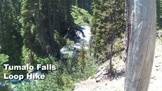 Video review of the Tumalo Falls Loop Hike with footage of it's features and terrain