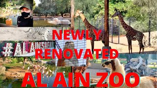 FULL DAY TOUR IN NEWLY RENOVATED AL AIN ZOO | ABU DHABI UAE 🇦🇪 | I HAD A GREAT TIME FOR 22 DIRHAMS