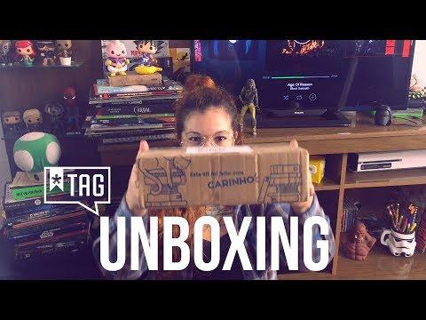 Unboxing! TAG Experiências Literárias - Agosto 2017
