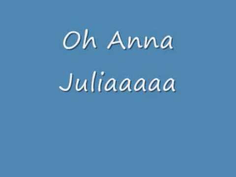 Música Anna Julia (cover)