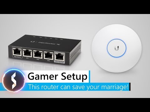 Gamer Setup – This router can save your marriage!
