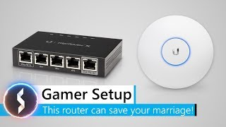 Gamer Setup - This router can save your marriage!