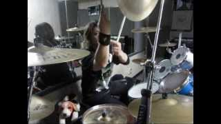 BANZON plays 「IMITATION OF LIFE」ANTHRAX(Drum view)