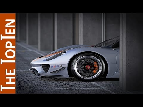 The Top Ten Amazing  Porsche Concept Cars