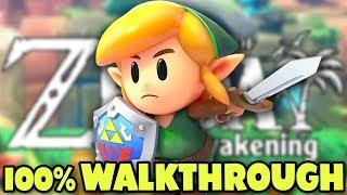 Link's Awakening   FULL GAME 100% Walkthrough (Nintendo Switch)