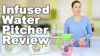 Infused Water Pitcher By Gourmet2Day Review - Ask Doctor Jo
