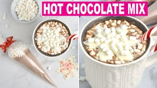 HOT CHOCOLATE RECIPE AND HOLIDAY GIFTS |Recipe|