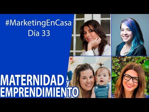 #marketingencasa   Maternidad Y Emprendimiento Con Inma, Natalia, Helena Y Ana
