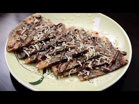 Cheese Chocolate Paratha   Quick Chocolate Recipe   Children's Day Special   Ruchi's Kitchen