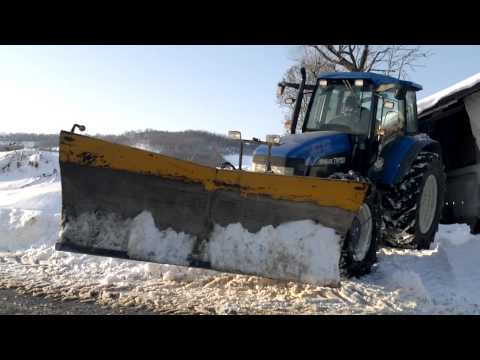 New Holland Tm150 Vestito da *NEVE*