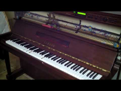 0 - 1994 Yamaha disklavier self player Upright Piano (u1 based)