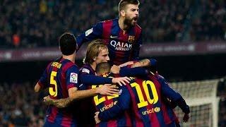 Барселона 3:1 Атлетико / Испанская Примера 2014/15  18-й тур / Обзор матча
