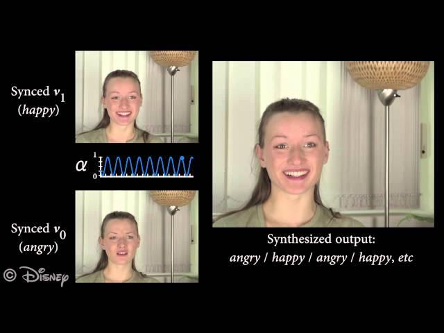 FaceDirector позволит корректировать выражения лиц актеров даже после съемки