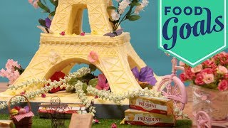 The Eiffel Tower Sculpted Out Of 50 Pounds Of Butter   Food Network