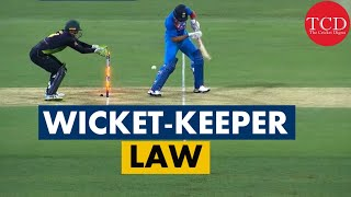 Alex Careys Incident | The Wicket Keeper Law Explained | Cricket Law 27