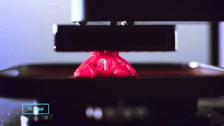 Смотреть онлайн Впечатляющая работа 3D принтера