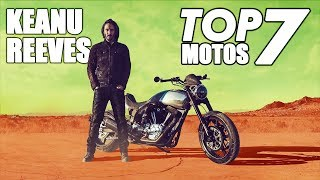 7 Increíbles Motos De Keanu Reeves || La Número 6 Salió En La Matrix