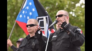 Neo-Nazi rally met by counterprotesters, police