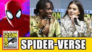 SPIDER-MAN INTO THE SPIDER-VERSE Comic Con Panel
