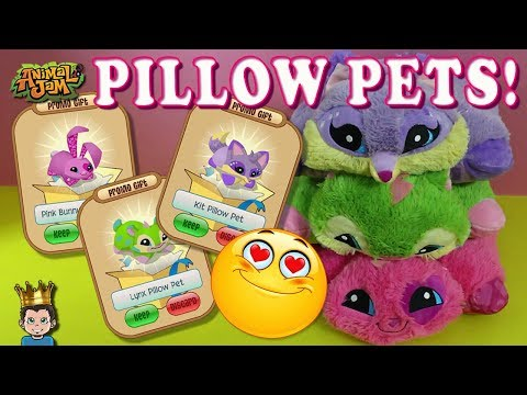 Animal Jam Pillow Pets Are Amazing + New Promo Items!