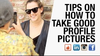 How to Take Profile Pictures for Facebook, LinkedIn, Instagram, and Tinder