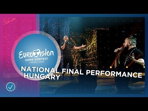 Joci Pápai - Az én apám - Hungary 🇭🇺 - National Final Performance - Eurovision 2019