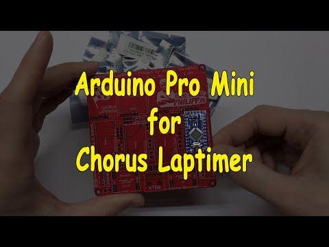 Arduino Pro Mini for Chorus Laptimer | запчасти к засечке для дрон рейсинга