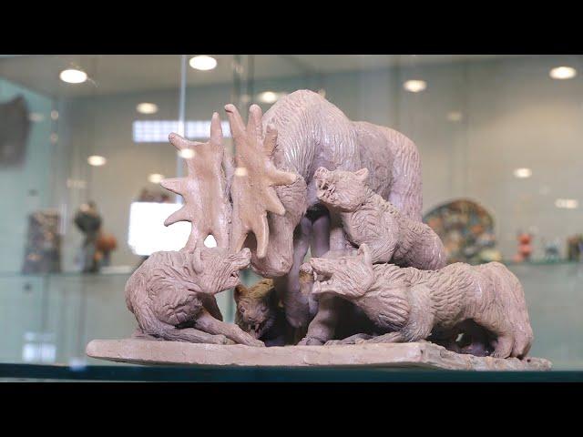 Выставка «Возрождаю» открылась в художественном центре Ангарска