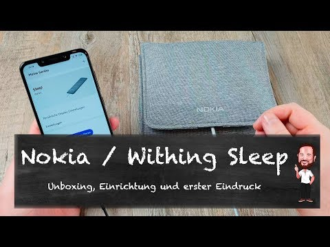 Nokia / Withings Sleep | Was ist eine smarte Schlafmatte ? (Deutsch / German)