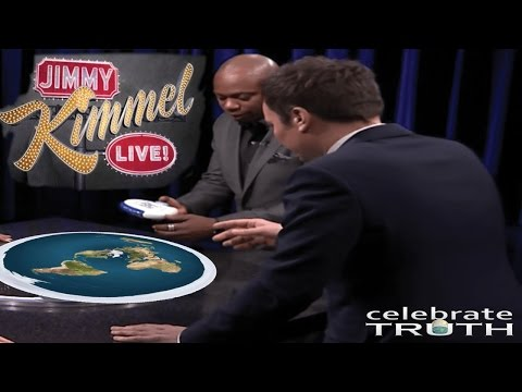 Dave Chappelle & Jimmy Kimmel Talk About Flat Earth 📺 Where's the Curvature? WHERE?