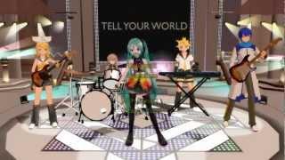 Hatsune Miku Live Party at Kansai 2013 [Tell Your World] [English Subtitles] [HD] [Miku]