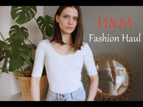 H&M   TRY ON FASHION HAUL MÄRZ 2019