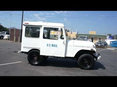 1977 US Mail Postal Jeep AMC RHD